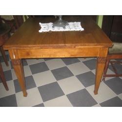 Стол обеденный дубовый, раскладной