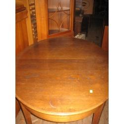 Овальный дубовый стол, 1930 год