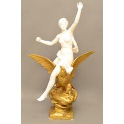 "Скульптура ""Богиня на орле"" ( Лот MH 2286 )"