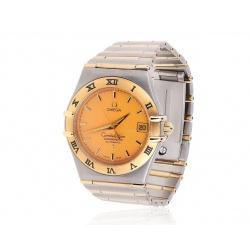 Золотые часы Omega Constellation