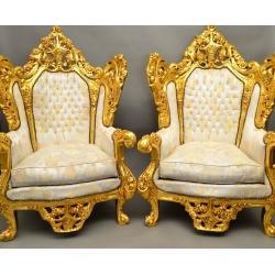 Большие кресла Рококо.