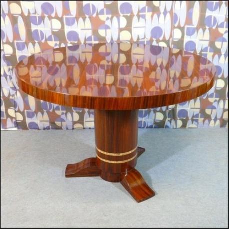 винтажный круглый стол