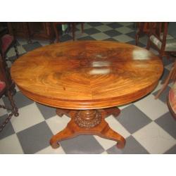 Овальный чайный стол 1890 год