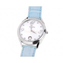 Стальные часы с жемчугом Schoeffel