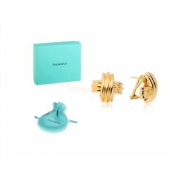 Золотые серьги Tiffany&Co