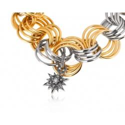 Золотой браслет с бриллиантами 0.08ct H.Stern Stars