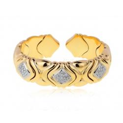 Золотой браслет с бриллиантами 0.90ct