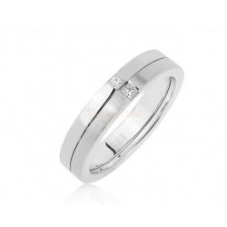 Золотое кольцо с бриллиантами 0.08ct Maty