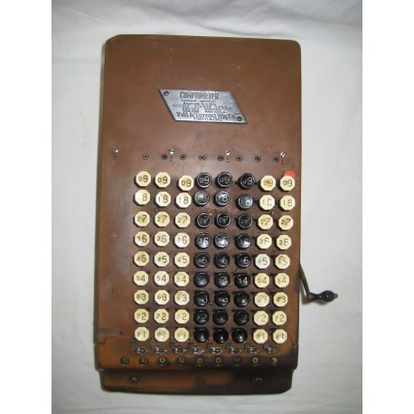 Комптометр, счетная машинка, металл, 1920 г. Лот (20410-7)