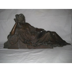 """Скульптура из бронзы """"Отдых"""", 1900 г."""