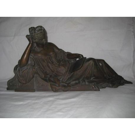 """Скульптура из бронзы """"Отдых"""""""