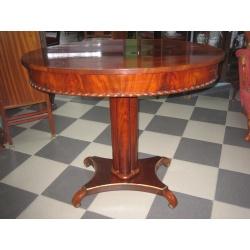 Овальный чайный стол Ампир