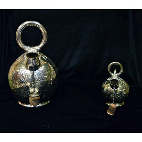 Антикварные серебряные чайники ( Лот MH 4765 )