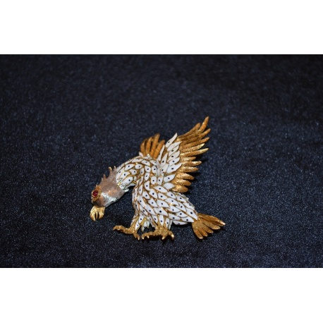 Брошь бриллиантовая ( Лот 4961 )