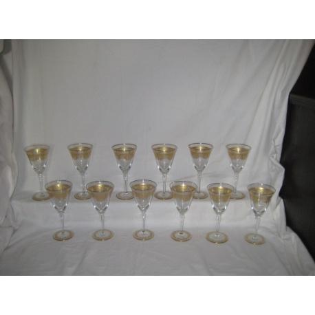 Комплект из 12 фужеров для вина