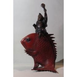 """Эбису на рыбе Тай"" ( Лот OL 3269)"