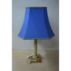 Винтажный светильник из оникса