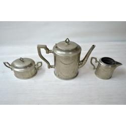Кофейный сервиз из металла
