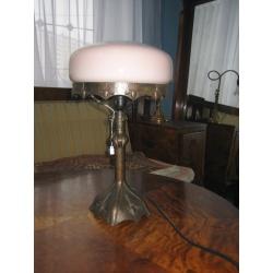 Лампа настольная из меди