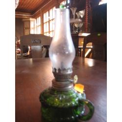 Лампа масляная зеленая, 1900 г.