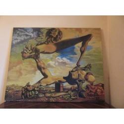 Копия картины Сальвадора Дали