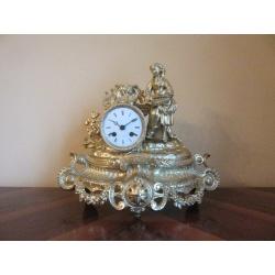 Антикварные каминные часы ( Лот AL 2400 )