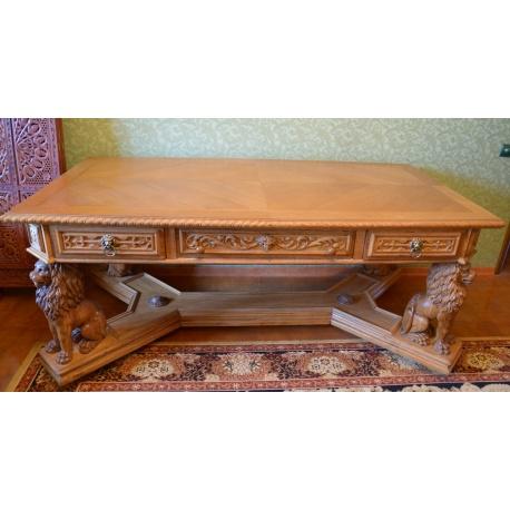 Антикварный письменный стол ( LU 0374 )