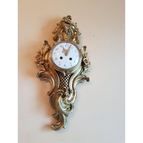 Часы настенные эпохи Наполеона 3 ( Лот AL 5208 )