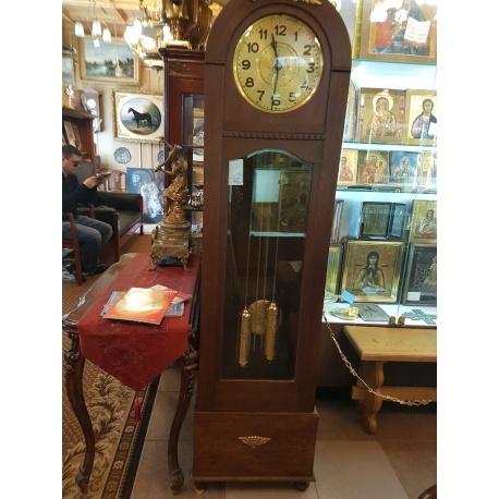Часы напольные Gustav Becker ( Лот AL 3605 )