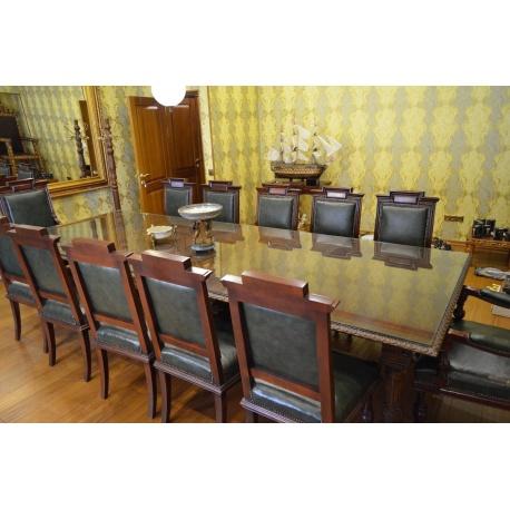 Стол раздвижной со стульями ( Лот MA 8339 )