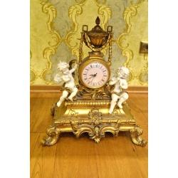 Красивые часы с ангелочками ( Лот MA 8355 )
