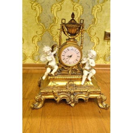 Часы каминные ( Лот MA 8355 )
