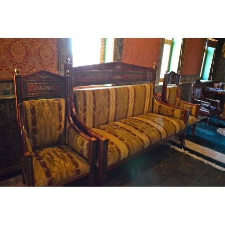 Комплект диван и два кресла ( Лот MA 8470 )