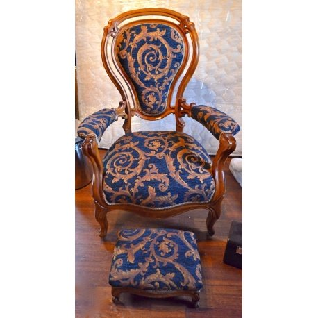 Кресло, с пуфом ( Лот MA 8506 )