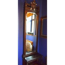 Зеркало с консолью старинное