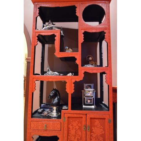 Китайский шкаф - стеллаж ( Лот AF 8139 )