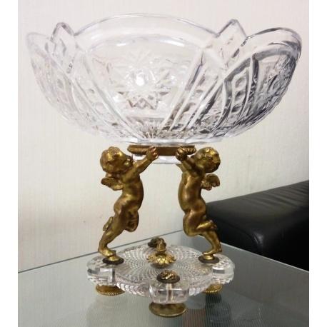 Хрустальная ваза ( Лот AN 3159 )