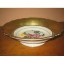 Фарфоровая антикварная салатница