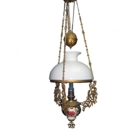Люстра - лампа с противовесом