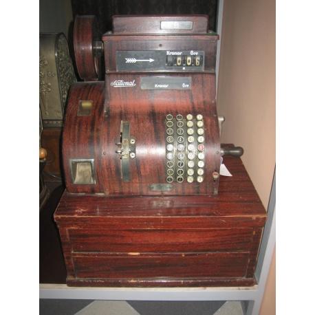Кассовый аппарат старинный