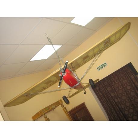 Модель самолёта винтаж