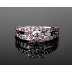 Mauboussin chance of love нежное золотое кольцо