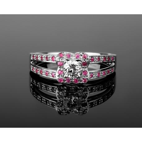 Mauboussin chance of love нежное золотое кольцо Артикул: 270417/6