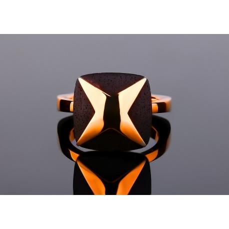 Mauboussin paris золотое кольцо с эбеновым деревом Артикул: 070317/36