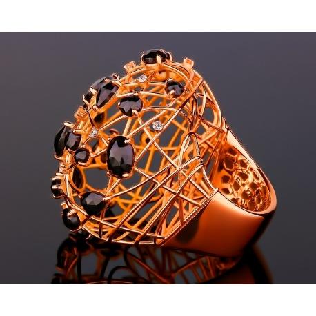 Giovanni ferraris дизайнерское золотое кольцо Артикул: 070317/7
