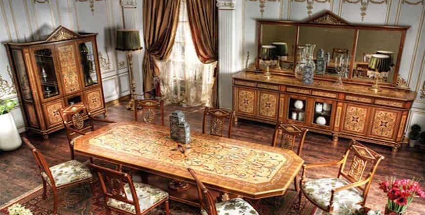 Антикварная столовая